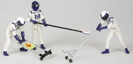 Williams Pitstop Salida (2002) Minichamps 343100054 1/43