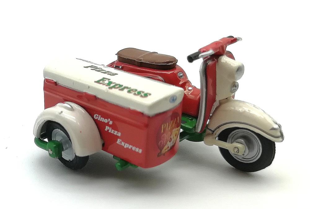 Zündapp Bella con side car
