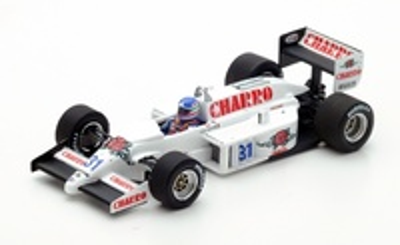 "AGS JH21 ""GP. Italia"" nº 31 Ivan Capelli (1986) Spark 1:43"
