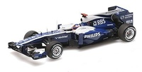 AT&T Williams Cosworth FW32 nº 9 Rubens Barrichello (2010) Minichamps 1/43
