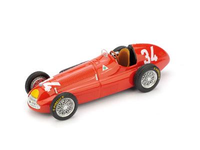 "Alfa Romeo 158 ""1º GP. Mónaco"" nº 34 Juan Manuel Fangio (1950) Brumm 1/43"