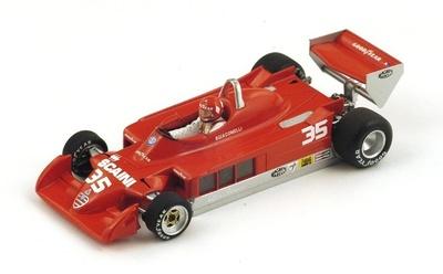 "Alfa Romeo 177 ""GP. Bélgica"" nº 35 Bruno Giacomelli (1979) Spark 1:43"