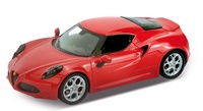 Alfa Romeo 4C (2013) Welly 1:24