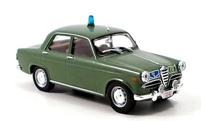 "Alfa Romeo Giulietta ""Polizia Stradale"" (1959) Ixo 1/43"