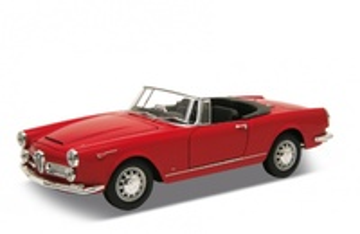 Alfa Romeo Spider sin capota (1960) Welly 1:24