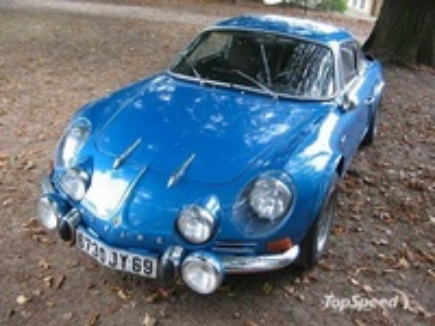 Alpine Renault A110 1600SC (1973) Kyosho 084082BL 1/18