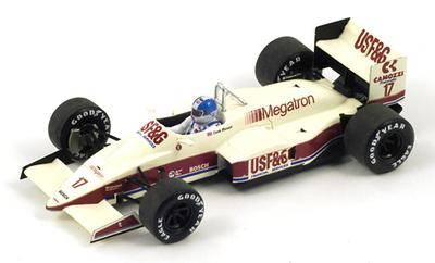 """Arrows A10 """"GP. Mónaco"""" nº 17 Derek Warwick (1987) Spark 1/43"""