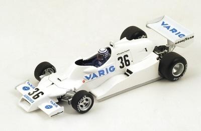 "Arrows FA1 ""GP. Brasil"" GP F1 1978 nº 36 Riccardo Patrese (1978) Spark S3900 1:43"
