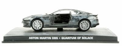 "Aston Martin DBS V12 (2007) James Bond ""Quantum of Solace"" Fabbri 1/43 Entrega 110"