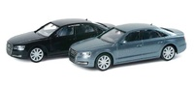 Audi A8 Limousine (2010) Herpa 1/87
