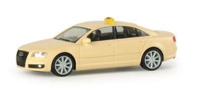 """Audi A8 """"Taxi""""  (2003) Herpa 1/87"""