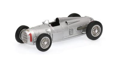 "Auto Union Tipo A ""GP. Alemania"" nº 1 Hans Stuck (1934) Minichamps 1:43"
