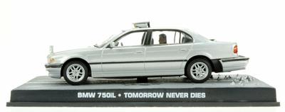 "BMW 750iL -E38- (1994) James Bond ""Tomorrow Never Dies"" Fabbri 1/43 Entrega 15"