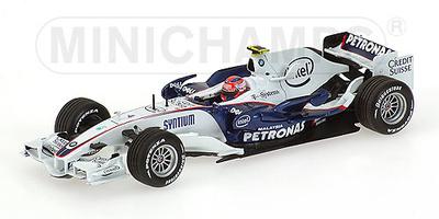 "BMW Sauber F1.08 ""Showcar"" Robert Kubica (2008) Minichamps 1/43"