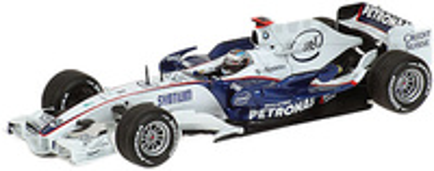 "BMW Sauber F1.08 ""Showcar"" nº 3 Nick Heidfeld (2008) Minichamps 1/43"