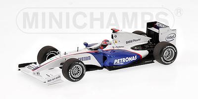 "BMW Sauber F1.09 ""Showcar"" nº 5  Robert Kubica (2009) Minichamps 1/43"