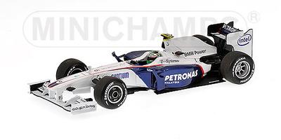BMW Sauber F1.09 nº 6 Nick Heidfeld (2009) Minichamps 1/43