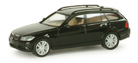 BMW Serie 3 Touring- E91- Negro - (2005) Herpa 1/87