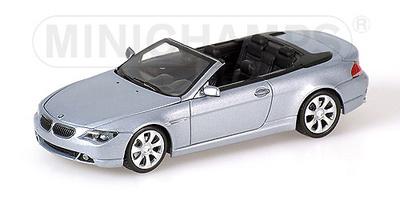 BMW Serie 6 Cabriolet -E64- (2006) Minichamps 1/43
