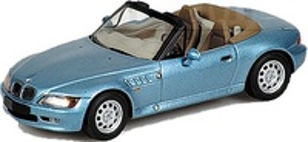 "BMW Z3 -E36/7- James Bond ""Goldeneye"" Minichamps 1/43"