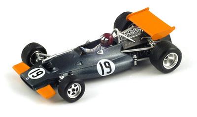 """BRM P153 """"GP. Sudáfrica""""  nº 19 Jackie Oliver (1970) Spark 1/43"""