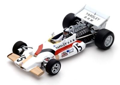 "BRM P160 ""GP. Mónaco"" nº 15 Pedro Rodríguez (1971) Spark 1:43"
