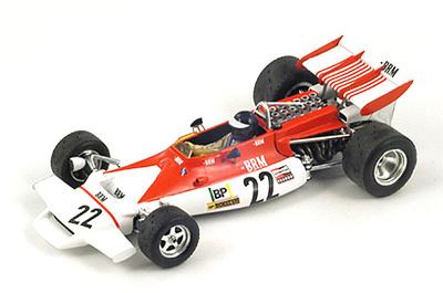 """BRM P160B """"GP. Francia"""" nº 22 Peter Gethin (1972) Spark 1:43"""