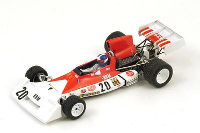 """BRM P160E """"4º GP. Canadá"""" nº 20 Jean-Pierre Beltoise (1973) Spark 1:43"""