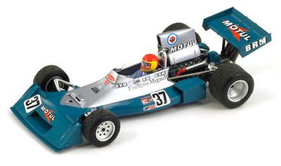 """BRM P160E """"GP Alemania"""" nº 37 François Migault (1974) Spark 1/43"""