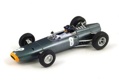 """BRM P261 """"1º GP. Mónaco"""" nº 8 Graham Hill (1964) Spark 1:43"""