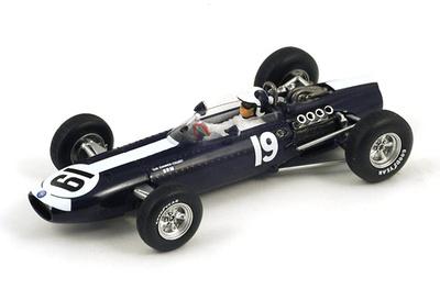 """BRM P261 """"4º GP Mónaco"""" nº 19 Bob Bondurant  (1966) Spark S1859 1:43"""