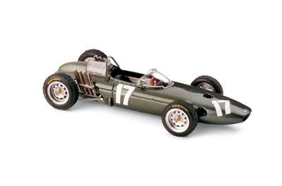 """BRM P57 """"1º GP. Holanda"""" nº 17 Graham Hill (1962) Brumm 1/43"""