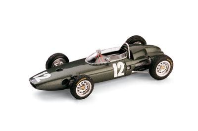 """BRM P57 """"2º GP. Italia"""" nº 12 Richie Ginther (1962) Brumm 1/43"""