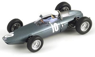 """BRM P57 """"3º GP. Francia"""" nº 10 Richie Ginther (1962) Spark 1/43"""