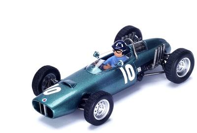 """BRM P57 """"6º GP. Mónaco"""" nº 10 Graham Hill (1962) Spark 1:43"""
