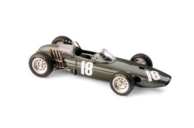 """BRM P57 """"GP Holanda"""" nº 18 Richie Ginther (1962) Brumm 1/43"""