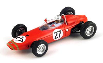 "BRM P57 ""GP. Bélgica"" nº 27 Lucien Bianchi (1965) Spark 1/43"