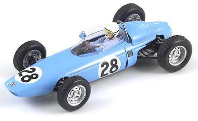 "BRM P57 ""GP. Francia"" nº 28 Maurice Trintignant (1964) Spark 1/43"