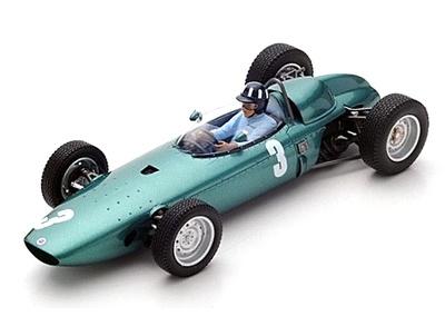 "BRM P57 ""GP. Sudáfrica"" nº 3 Graham Hill (1962) Spark 1:18"
