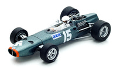 "BRM P61/2 ""GP. Gran Bretaña"" nº 15 Chris Irwin (1967) Spark 1:43"