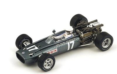 "BRM P83 ""GP. México"" nº 17 Chris Irwin (1967) Spark 1:43"