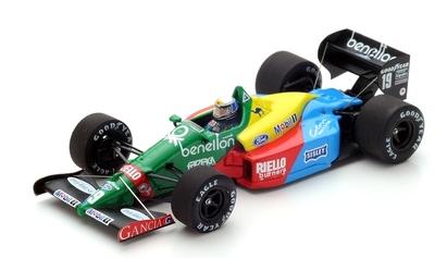 "Benetton B188 ""GP. Gran Bretaña"" nº 19 Alessandro Nannini (1988) Spark 1:43"