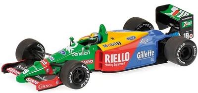 Benetton B189 "1º GP. Japón" nº 19 Alessandro Nannini (1989) Minichamps 1/43