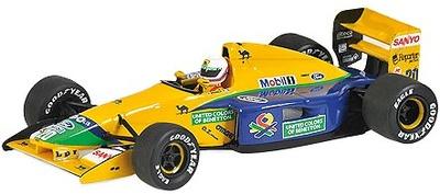 "Benetton B191B ""Debut Temporada"" nº 20 Martin Brundle (1992) Minichamps 1/43"