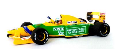 """Benetton B192 """"GP. Bélgica"""" nº 18 Michael Schumacher  (1992) Minichamps 1:43"""