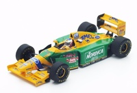"Benetton B193B ""GP. Portugal"" nº 5 Michael Schumacher (1993) Spark 1/43"