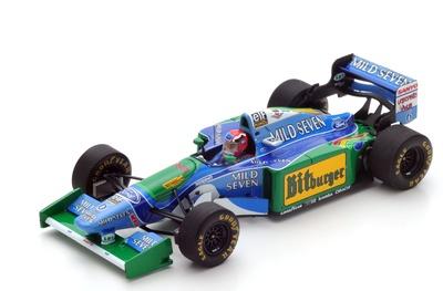 Benetton B194 "GP. Australia" nº 6 Johnny Herbert  (1994) Spark 1:43