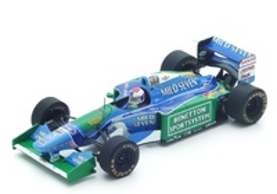 Benetton B194 "GP. Bélgica" nº 3 Jos Verstappen (1994) Spark 1:43