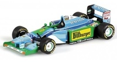 Benetton B194 "GP. Mónaco" nº 5 Michael Schumacher (1994) Minichamps 1:43