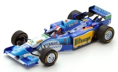 Benetton B195 "GP. Gran Bretaña" n°2 Johnny Herbert  (1995) Spark 1:43